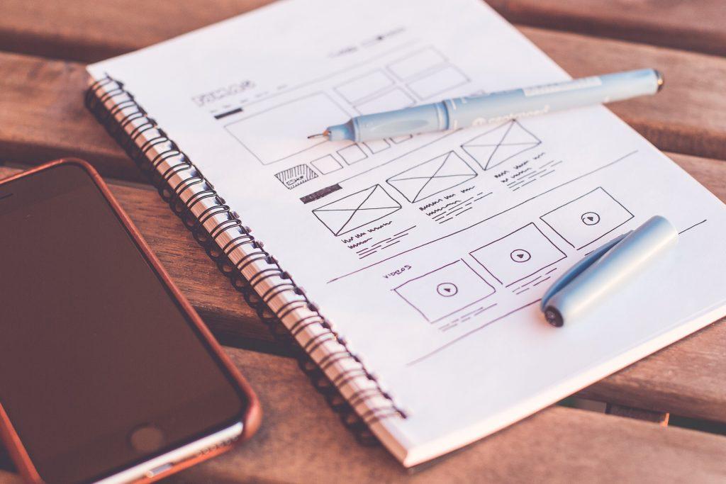 Diseño para crear una página