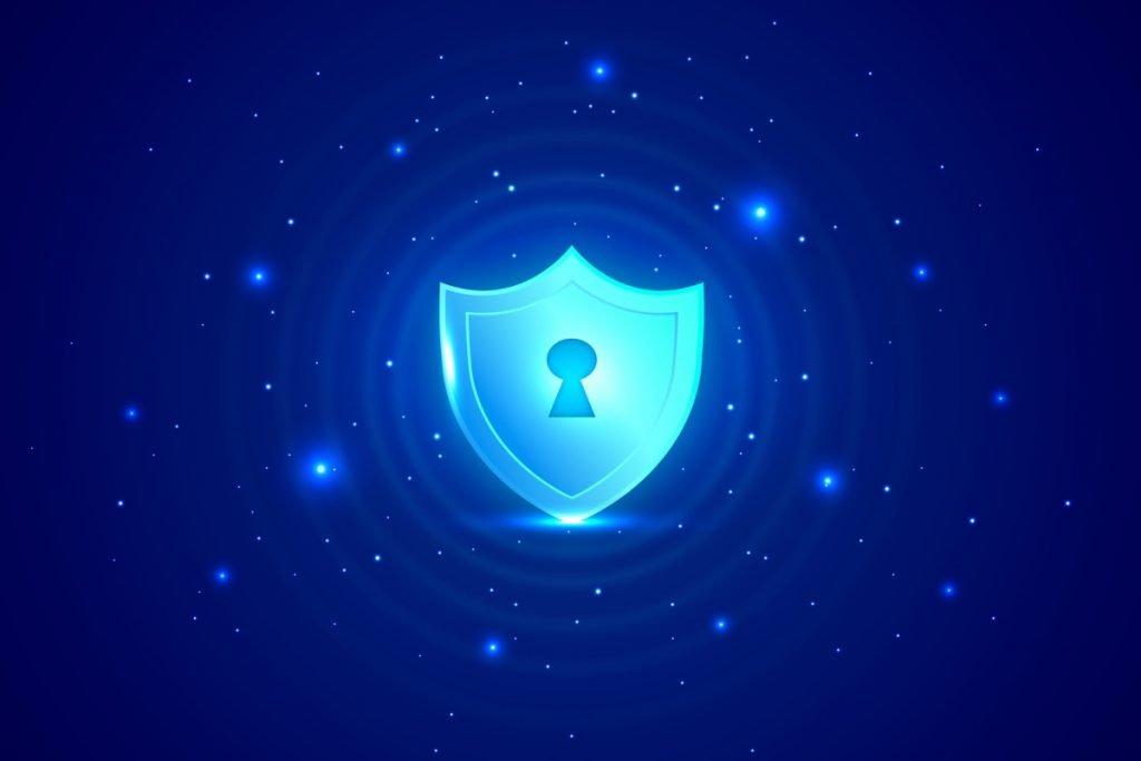 Imagen de un candado conceptualizando la seguridad digital
