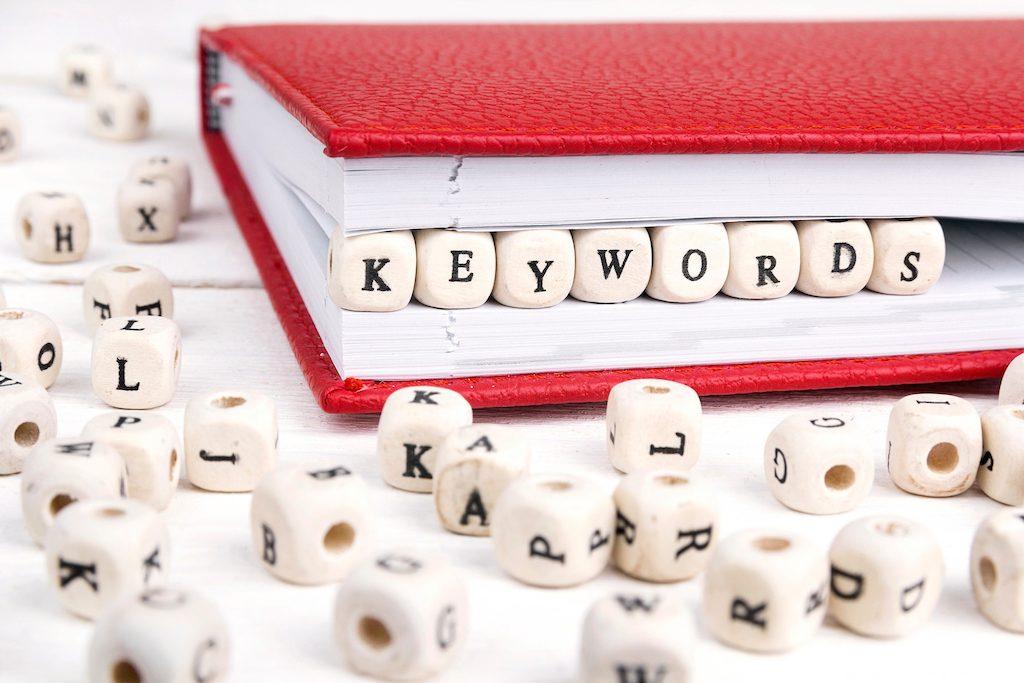 Cómo utilizar las palabras clave